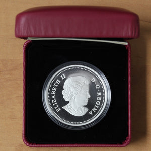2014 - Canada - $20 - Majestic Maple Leaves, Coloured - Proof - retail $80