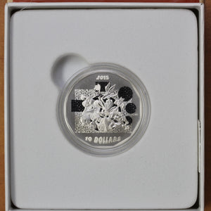 2015 - Canada - $10 - That's All Folks! - Matte Proof - retail $40 - 25% OFF!
