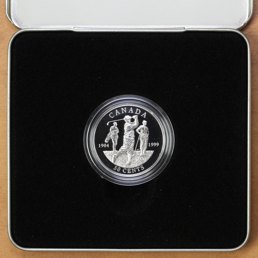 1999 - Canada - 50 cents - First Canadian Open Golf Championship - Proof
