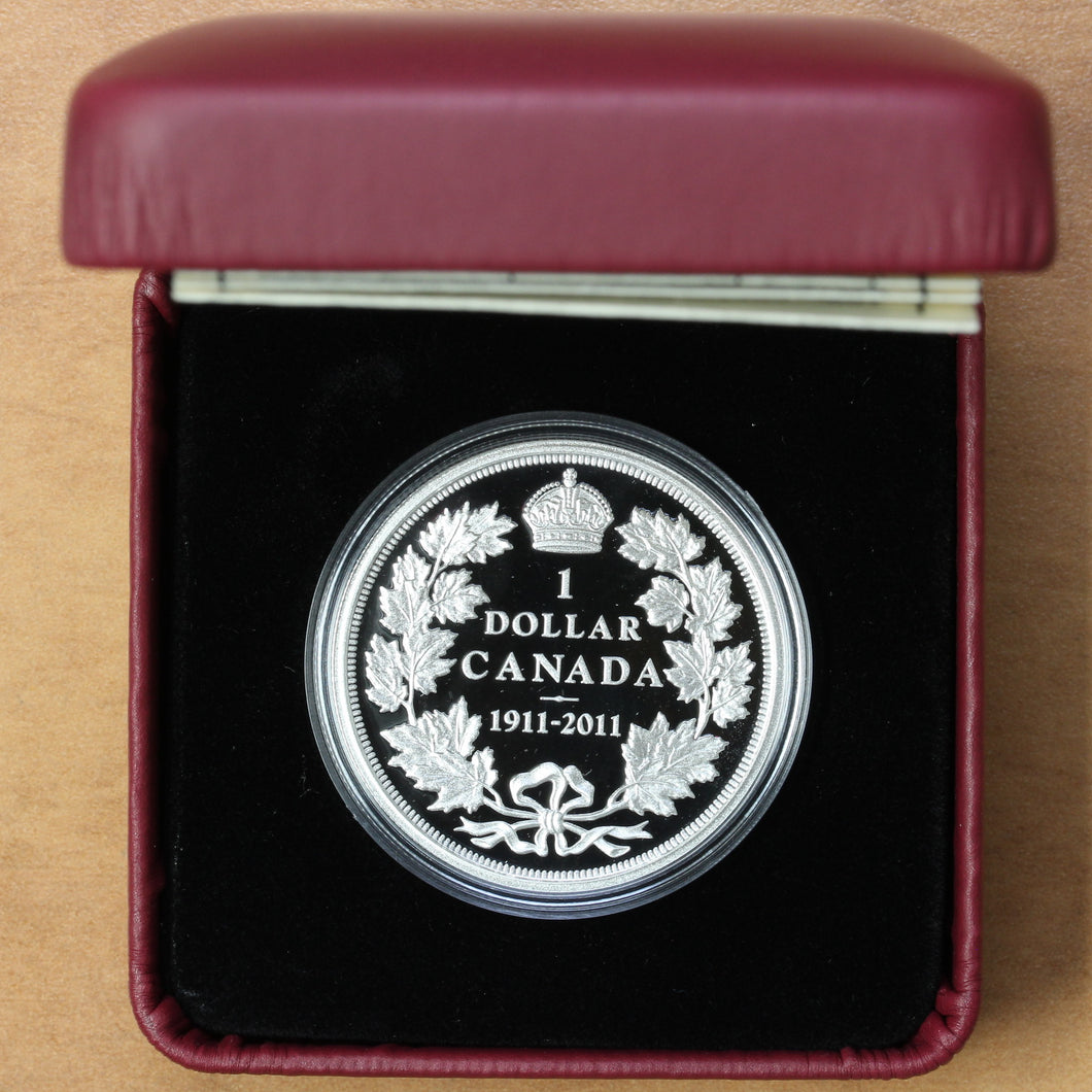 2011 - Canada - $1 - Proof - 100th Anniv. of Canada's 1911 Silver Dollar - Proof - retail $60 - 50% OFF!
