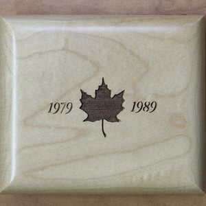 1989 - Canada - $5 - 10th Anniv. Maple Leaf - Proof