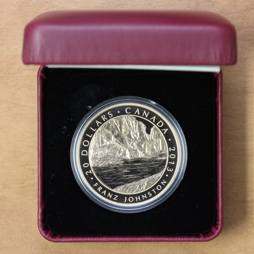 SOLD - 2013 - Canada - $20 - The Guardian of the Gorge, Franz Johnston - Proof - retail $70 - 25% OFF!