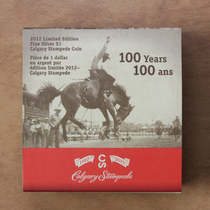 2012 - Canada - $1 - 100 Years of the Calgary Stampede - 30% OFF!