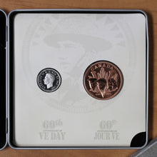 Load image into Gallery viewer, 2005 - Canada - 5c - VE-Day - with Bronze Medallion - retail $15