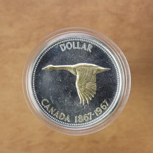 1967 - Canada - $1 - Gold Coloured