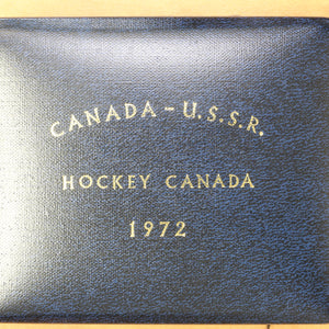 1972 - Canada Russia Hockey Series - Sterling Silver Medal - RARE