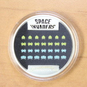 2018 - Niue - 2 Dollars - 40th Anniv. of Space Invaders  - Proof