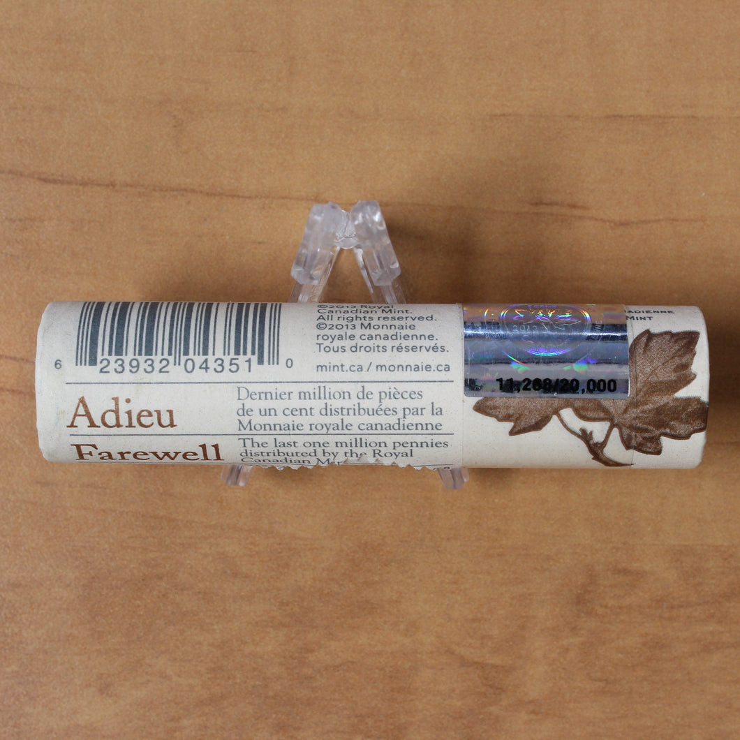 2012 - 1c - Farewell to the Penny - Special RCM Wrapped Roll (50pcs.)