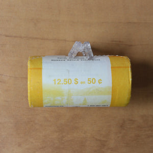 SOLD - 2005 - 50c - Special RCM Wrapped Roll (25 pcs.)