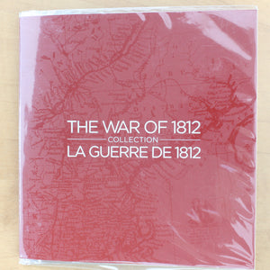 2012 - Canada - The War of 1812 Gift Set