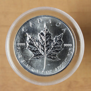 SOLD - 1996 - Canada - $5 - Silver Maple Leaf - UNC