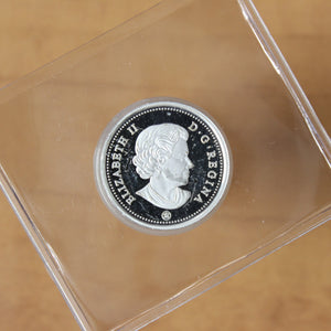 2019 - Canada - 5c - Silver - Proof - retail $25
