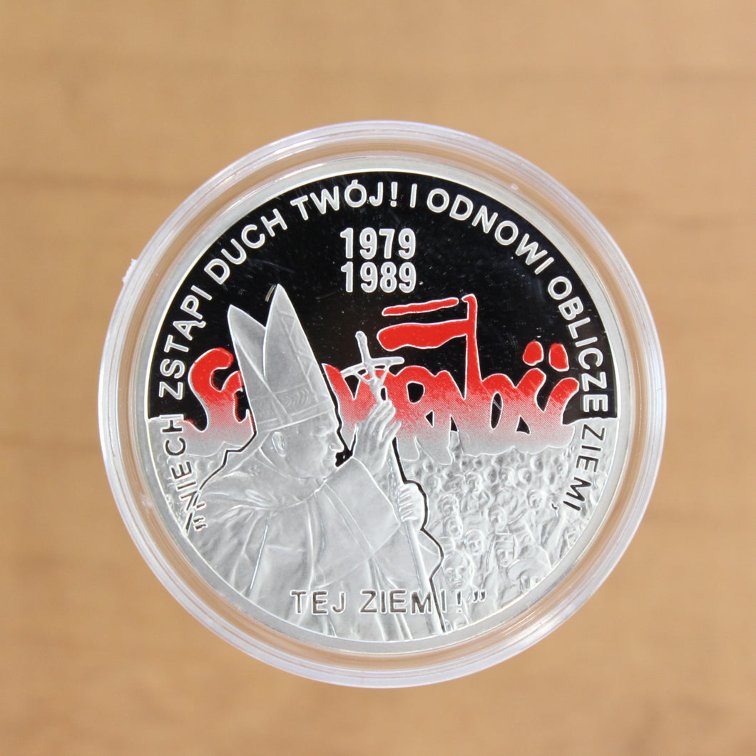 2009 - Poland - 10 Zlotych - General Elections of 1989  - Proof
