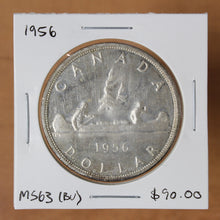 Load image into Gallery viewer, 1956 - Canada - $1 - MS63 - retail $90