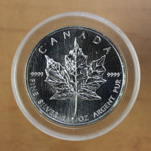 SOLD - 1999 - Canada - $5 - Silver Maple Leaf - UNC - retail $45