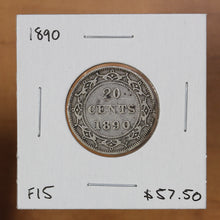 Load image into Gallery viewer, 1890 - Newfoundland - 20c - F15 - retail $57.50