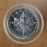 SOLD - 2002 - Canada - $5 - Silver Maple Leaf - UNC