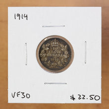 Load image into Gallery viewer, 1914 - Canada - 10c - VF30 - retail $22.50