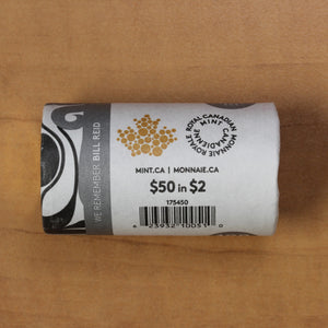 2020 - Bill Reid - Special RCM Wrapped Non-Coloured Roll