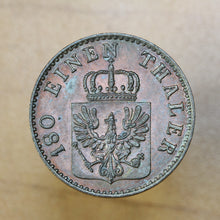 Load image into Gallery viewer, 1856 A - Germany (Prussia) - 2 Pfennig - UNC - retail $60
