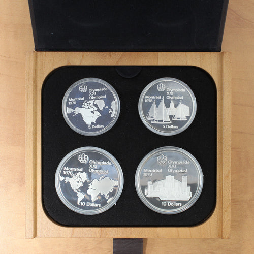 1973 - Canada - Montreal Summer Olympic Games - Series I (One) Proof Set
