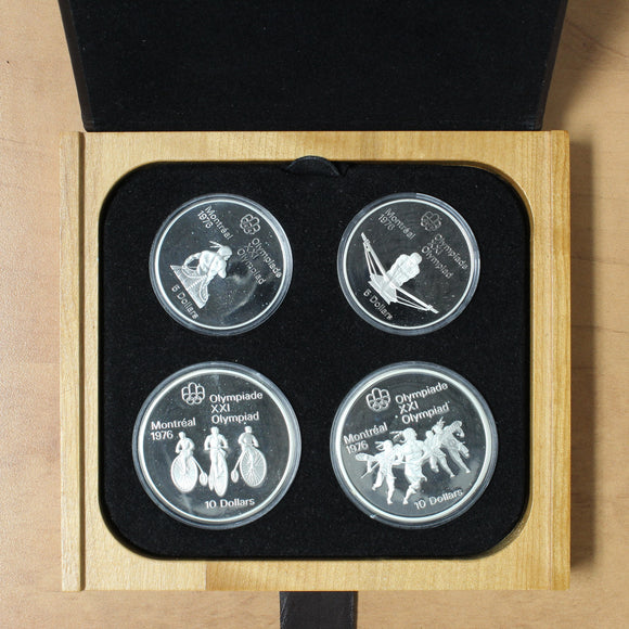 1975 - Canada - Montreal Summer Olympic Games - Series III (Three) Proof Set