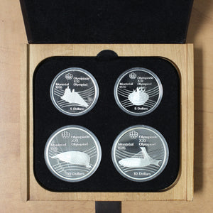 1976 - Canada - Montreal Summer Olympic Games - Series VII (Seven) Proof Set