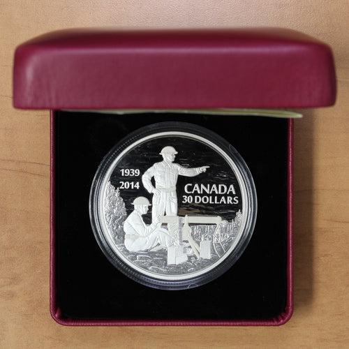 2014 - Canada - $30 - 75th Anniv. of the Second World War - Proof - retail $170 - 30% OFF!