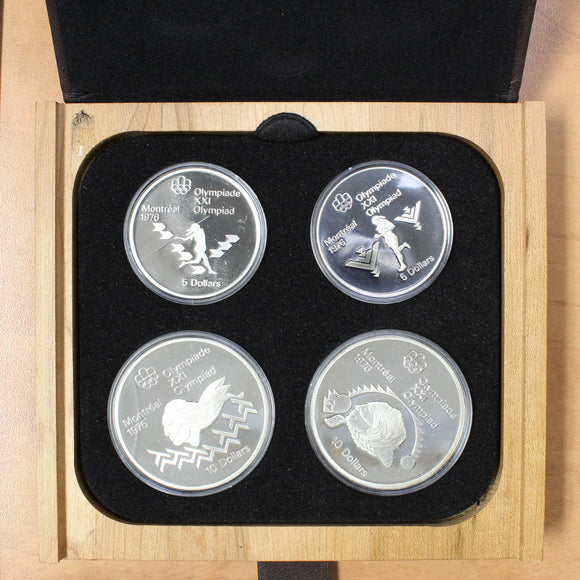 1975 - Canada - Montreal Summer Olympic Games - Series IV (Four) Proof Set