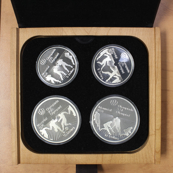 1976 - Canada - Montreal Summer Olympic Games - Series VI (Six) Proof Set