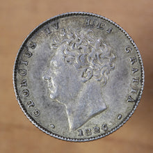 Load image into Gallery viewer, 1826 - Great Britain - 6 pence - AU50