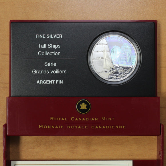 SOLD - 2007 - Canada - $20 - Brigantine (Hologram) - Proof - retail $65