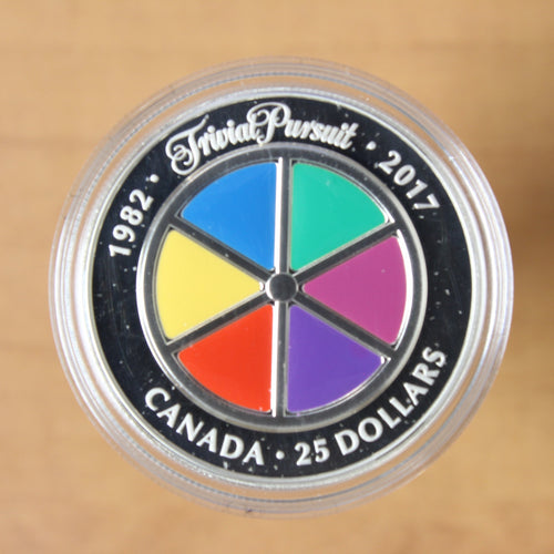2017 - Canada - $25 - 35th Anniversary of Trivial Pursuit - Proof - 50% OFF!