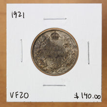 Load image into Gallery viewer, 1921 - Canada - 25c - VF20 - retail $140