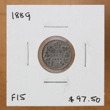 Load image into Gallery viewer, 1889 - Canada - 5c - F15 - retail $97.50