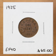 Load image into Gallery viewer, 1925 - Canada - 1c - EF40 - retail $65