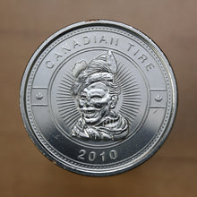 Load image into Gallery viewer, SOLD - Canadian Tire 2010 - $1 Cash Token