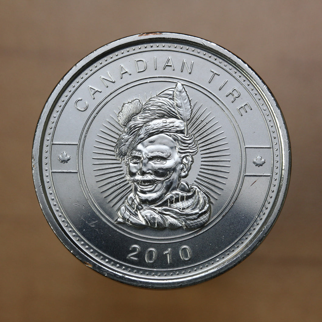 SOLD - Canadian Tire 2010 - $1 Cash Token