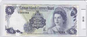1974 - Cayman Islands - 1 Dollar
