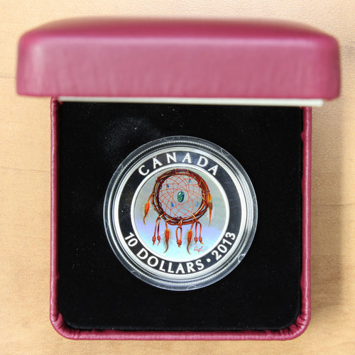 2013 - Canada - $10 - Dreamcatcher - Proof - retail $65 - 30% OFF!