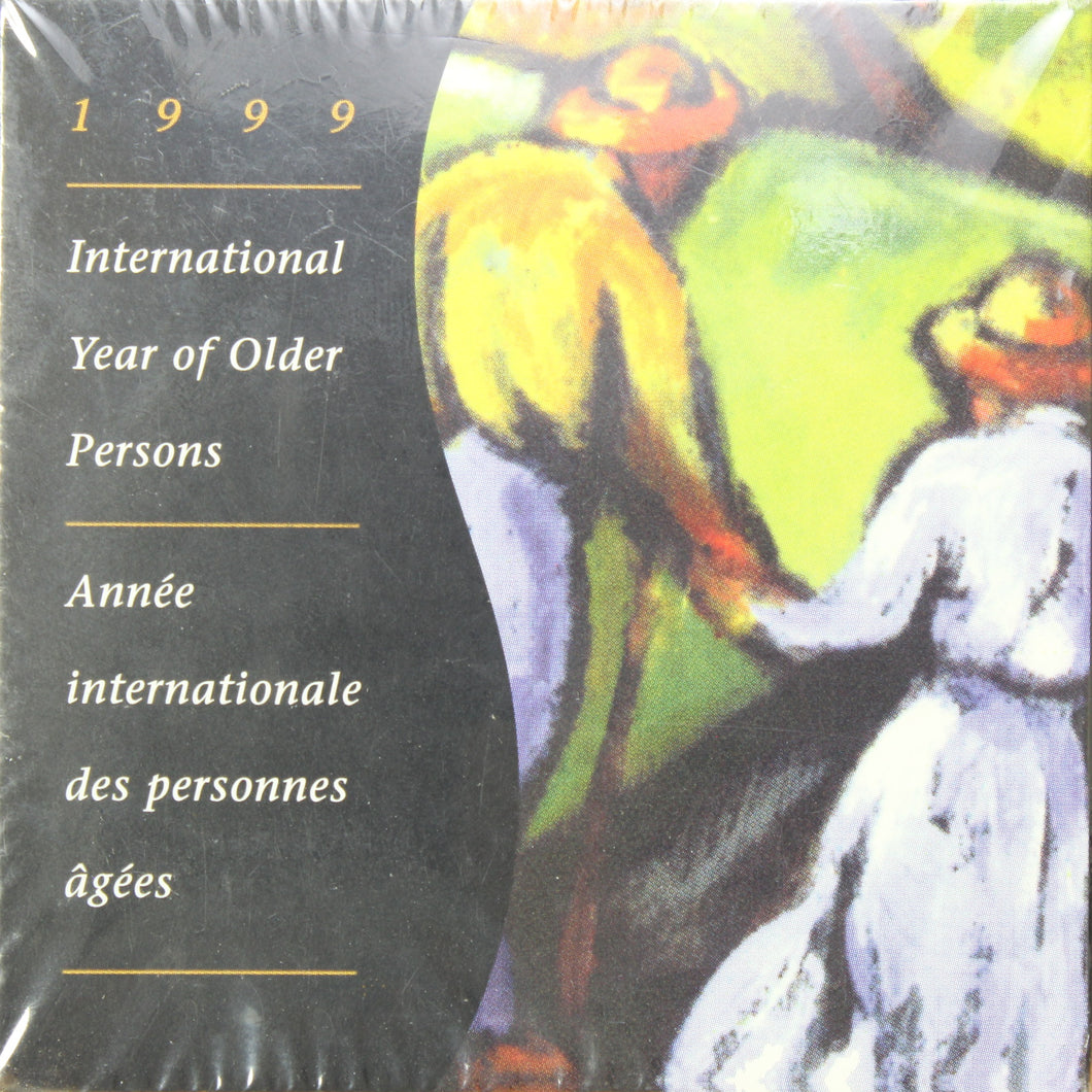 1999 - Canada - $1 - International Year of Older Persons - Proof - Sealed