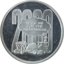 Load image into Gallery viewer, Garfield Millennium (2000) - Fine Silver - 1 oz. Round