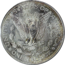 Load image into Gallery viewer, Morgan Dollar Design - Fine Silver - 1 oz. Round