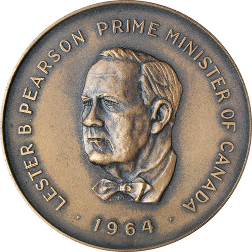 (1964) - Lester B. Pearson - Prime Minister of Canada Medal