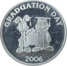 Load image into Gallery viewer, Garfield Graduation Day (2006) - Fine Silver - 1 oz. Round