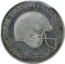 Load image into Gallery viewer, Minnesota Vikings - Fine Silver - 1 oz. Round