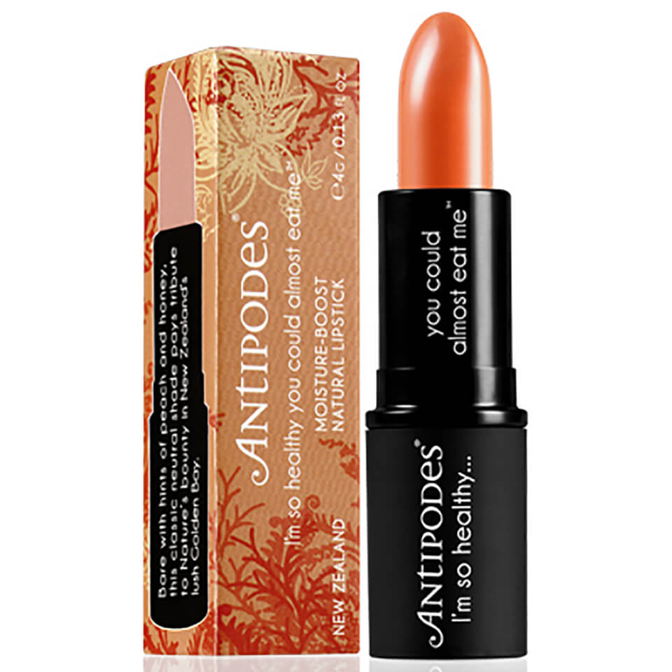 Antipodes-Moisture Boosting Golden Bay Nectar Natural Lipstick 4g