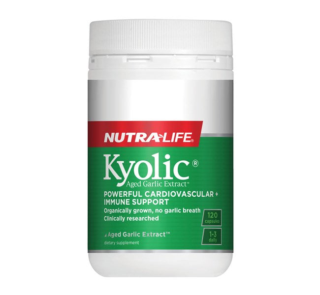 Nutralife-Kyolic Aged Garlic Extract High Potency Formula 120 Capsules