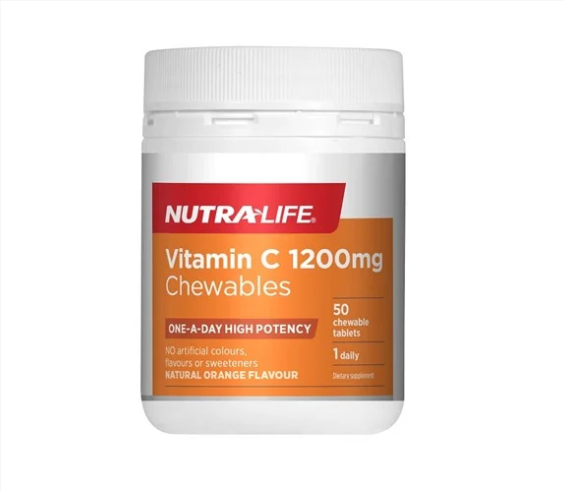 Nutra-Life Vitamin C 1200mg Tablets 50s