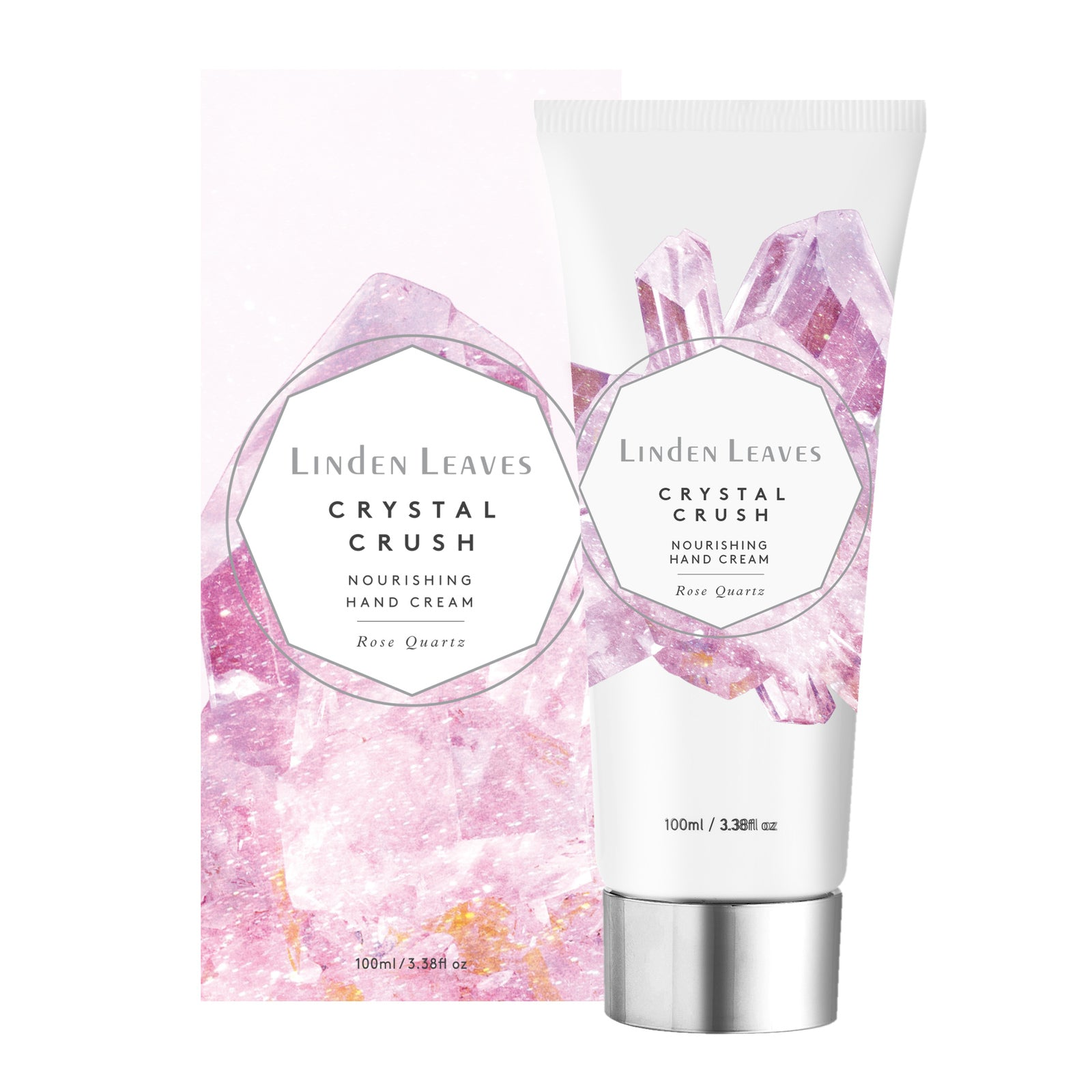 Linden Leaves Rose Quartz Nourishing Hand Cream